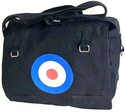 Canvas Messenger Dispatch Shoulder Student College Bag Black Target