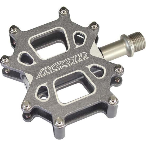 Acor Flat Platform Mountain Bike MTB / BMX Bicycle Pedals Sealed Bearing 9/16""