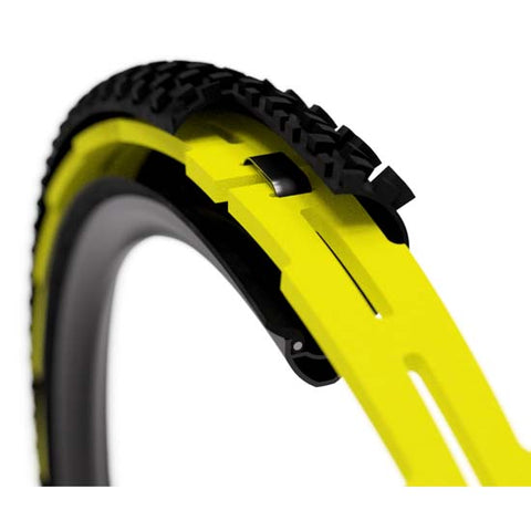 2 Pack Huck Norris Tubeless Tyre Pinch tyre & Rim Protection Insert Strip Large