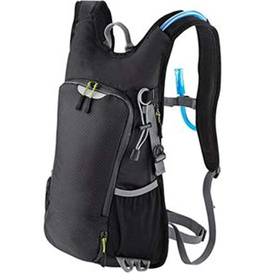 1.5 Litre Hydration Pack Backpack Rucksack Mountain Bike MTB Bicycle Cycle 1.5L Black
