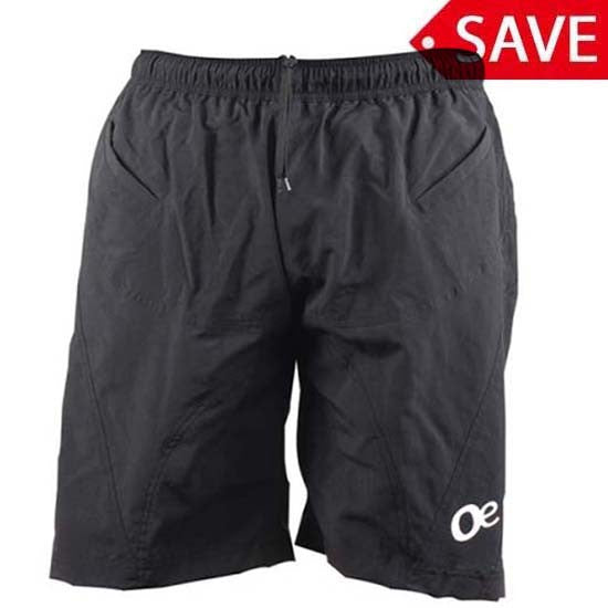 Outeredge Padded Baggy MTB Bicycle Bike Cycle Trail Shorts Mens Black