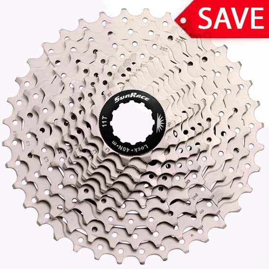 Sunrace 10 speed Mountain Bike MTB Cassette 11/36T MS1