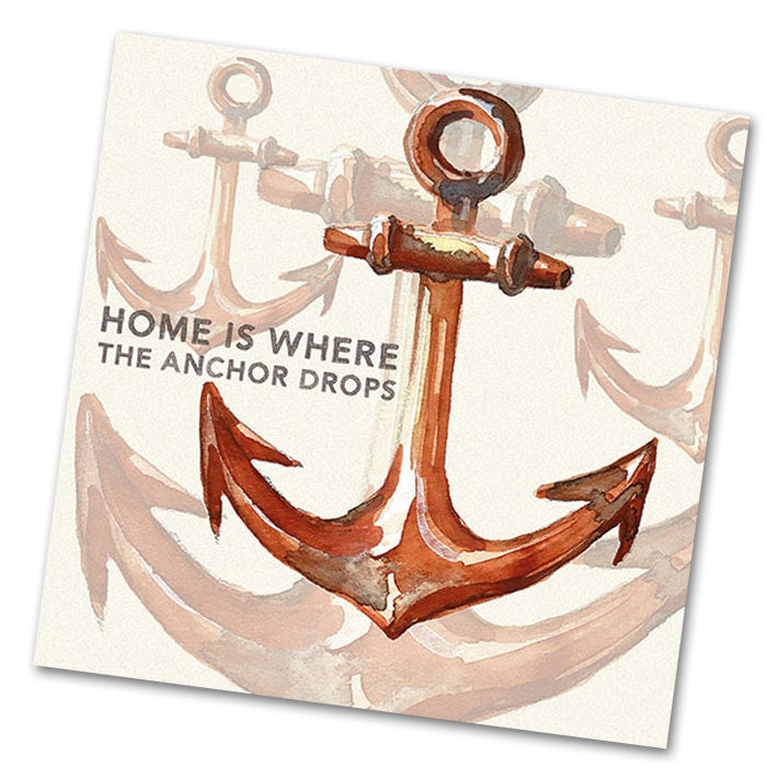Rusty Anchor Luncheon Napkins