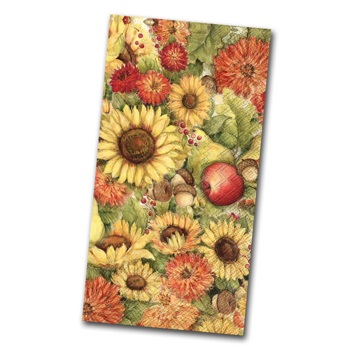 Flowers and Fruit Guest Towels
