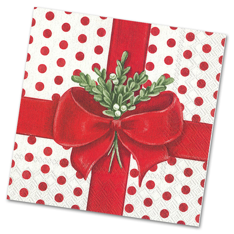 A Present For You Luncheon Napkins