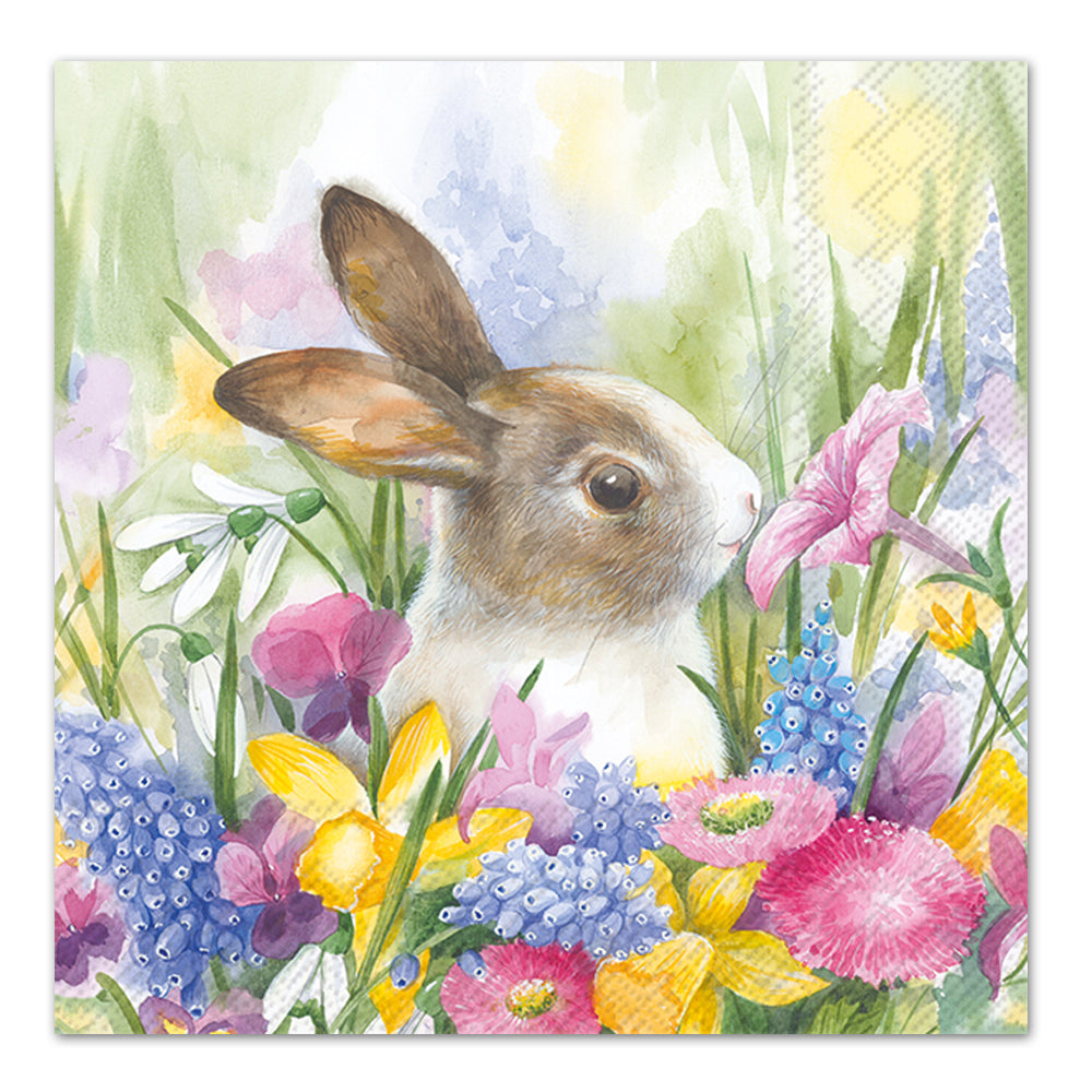 Ruby in the Meadow, Rabbit Luncheon Napkins