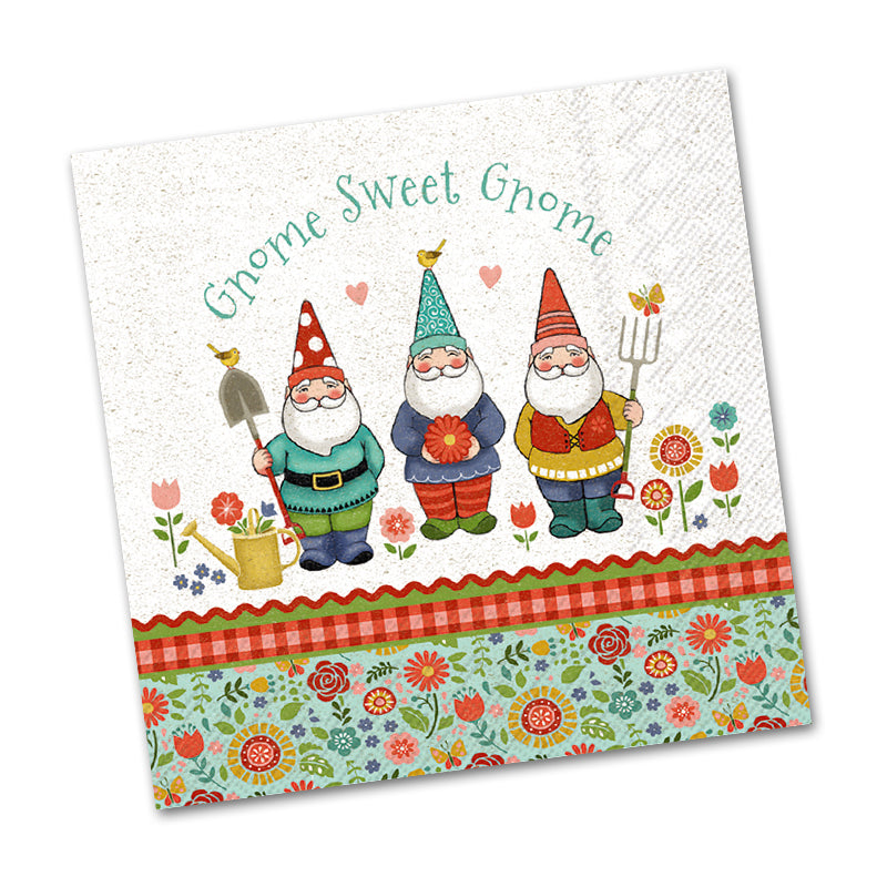 Sweet Little Helpers, Gnome Beverage Napkins