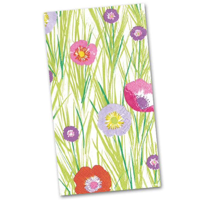 Flowers and Grasses Guest Towels - Napkins