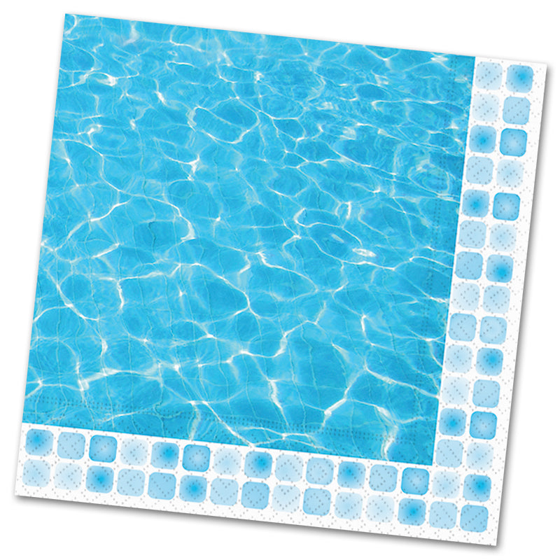 Poolside Paper Luncheon Napkin