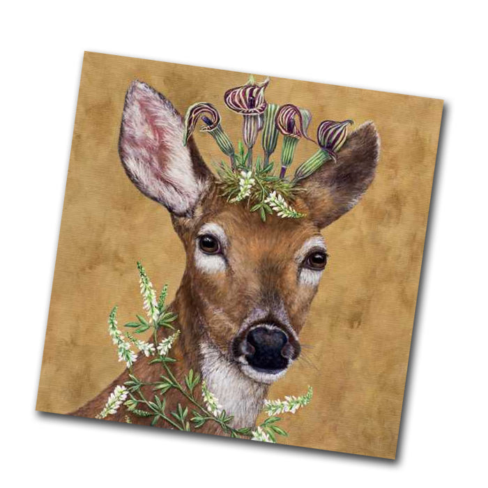 Woodland Princess - Deer Paper Napkins - Beverage