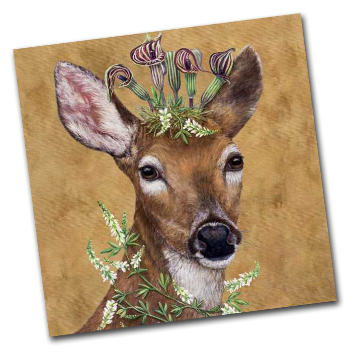 Woodland Princess - Deer Paper Napkins - Luncheon