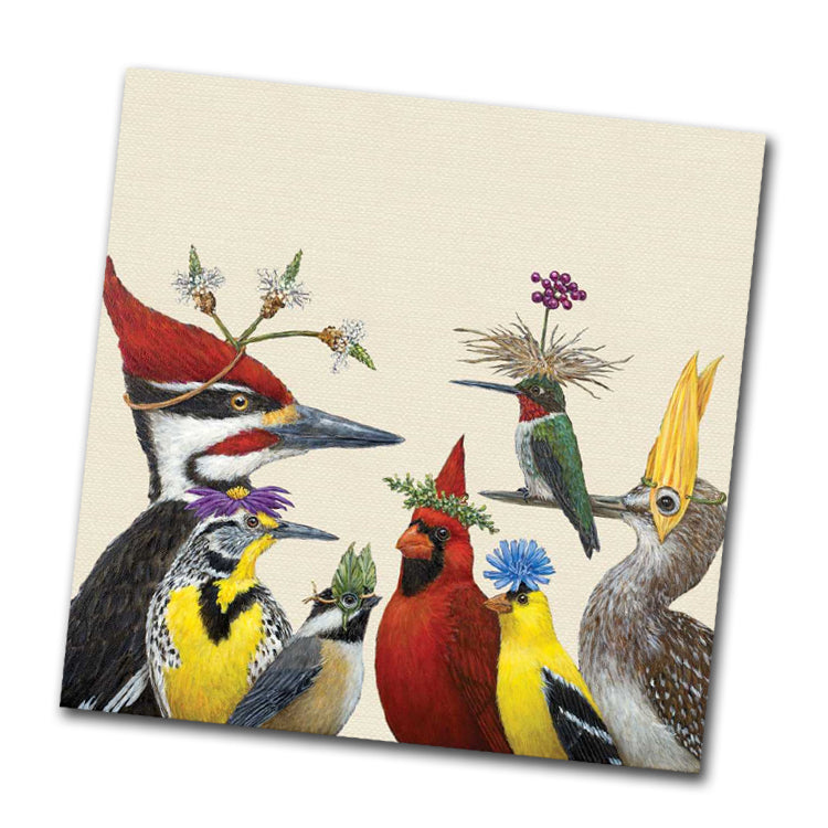 Woody's Annual Party Beverage Napkins by Vicki Sawyer