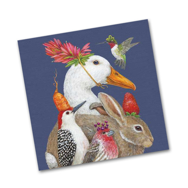 A Few Good Friends Beverage Napkins by Vicki Sawyer