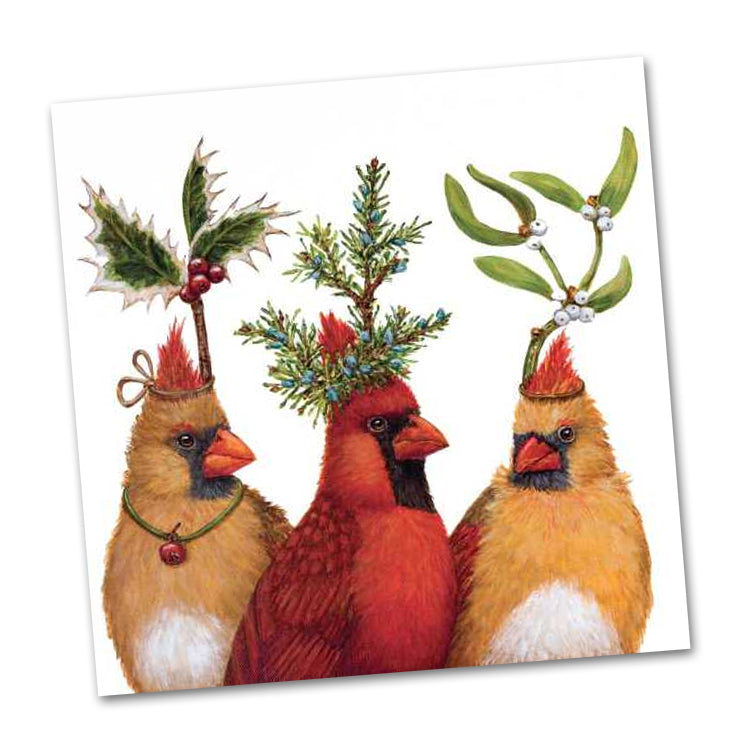 Holiday Party by Vicki Sawyer Luncheon Napkins
