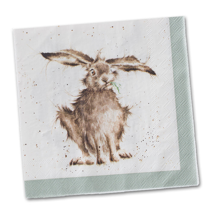 Hare Brained - Hare Paper Napkin Luncheon