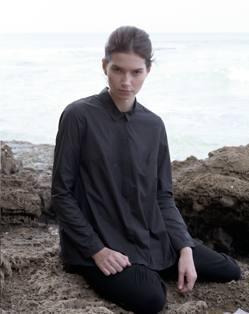 Wind blouse | Black