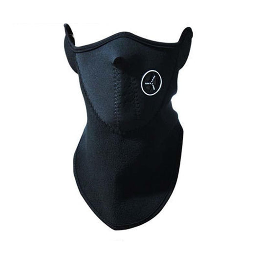 Family Avenue Half Face Mask - Neck Warmer Black