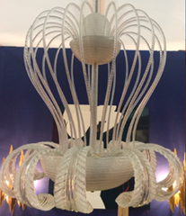 A BAROVIER AND TOSO CHANDELIER
