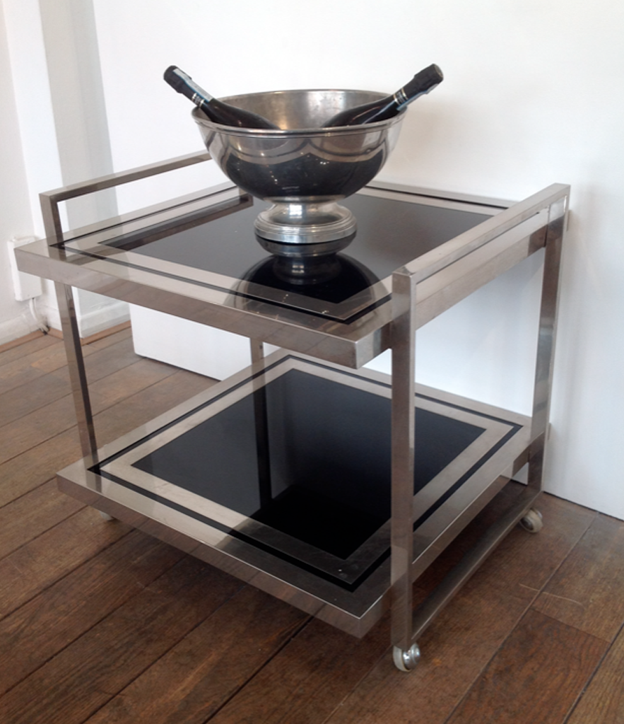 A MERCIER FRERES DRINKS TROLLEY