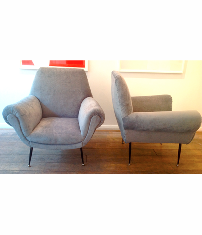 Pair of 1960s Italian Armchair