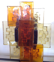 A pair of A pair of Holm Sorensen glass wall sconces