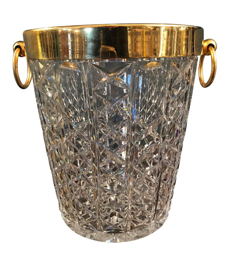 VAL ST LAMBERT CRYSTAL CHAMPAGNE BUCKET
