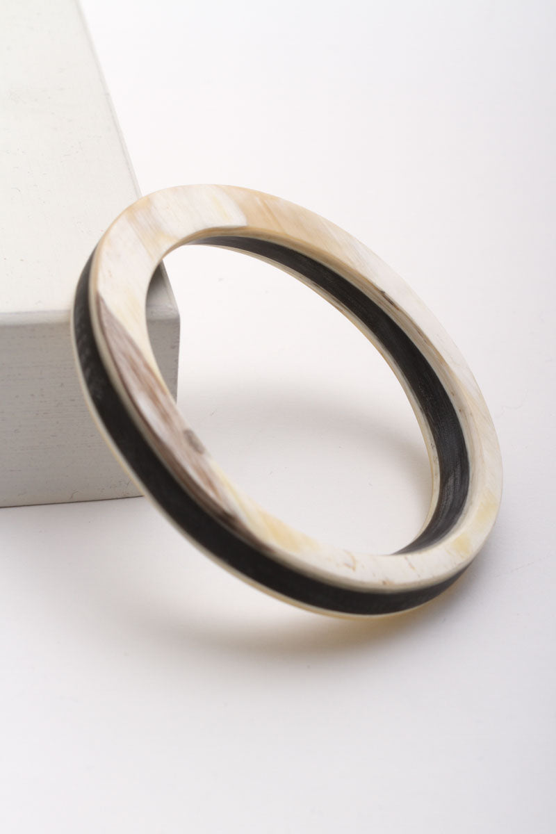 Asymmetric Horn Bangle