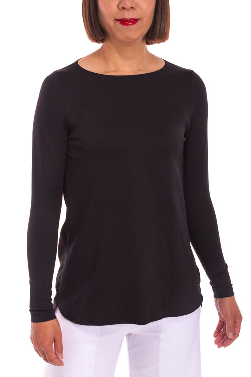 Yoke Back Long Sleeve