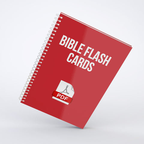 Bible Flash Cards (PDF)