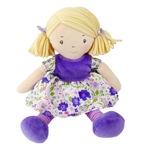 Lil'l Peggy - Blond hair with lilac dress