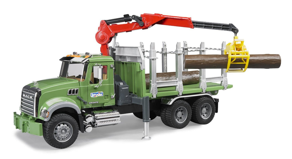 MACK Granite Timber TruckCrane
