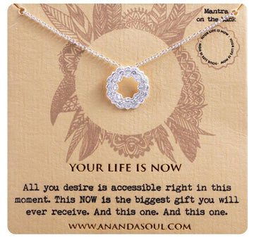 Your life is now necklace • Silver