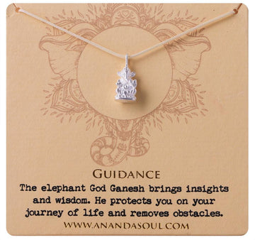 Guidance necklace • Silver