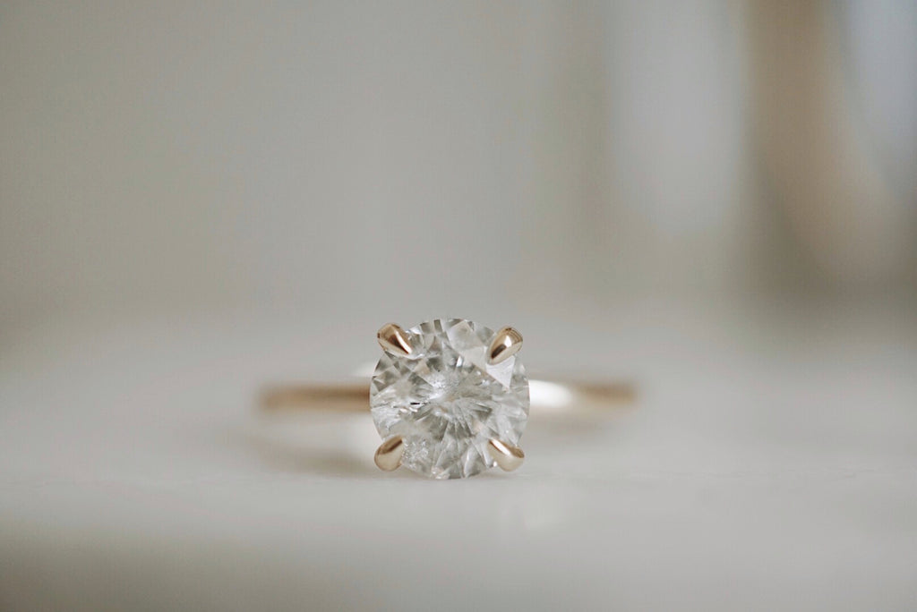 Only One Ring - 1.02ct Salt and Pepper Diamond *online exclusive
