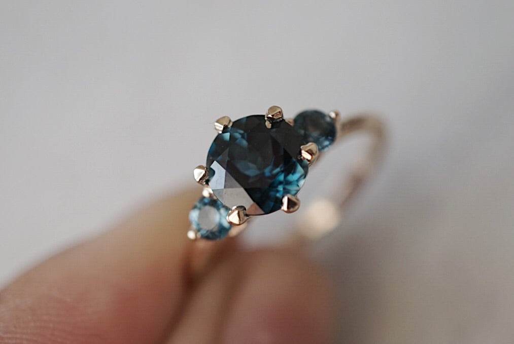 Companions Ring -  London Blue Topaz *online exclusive