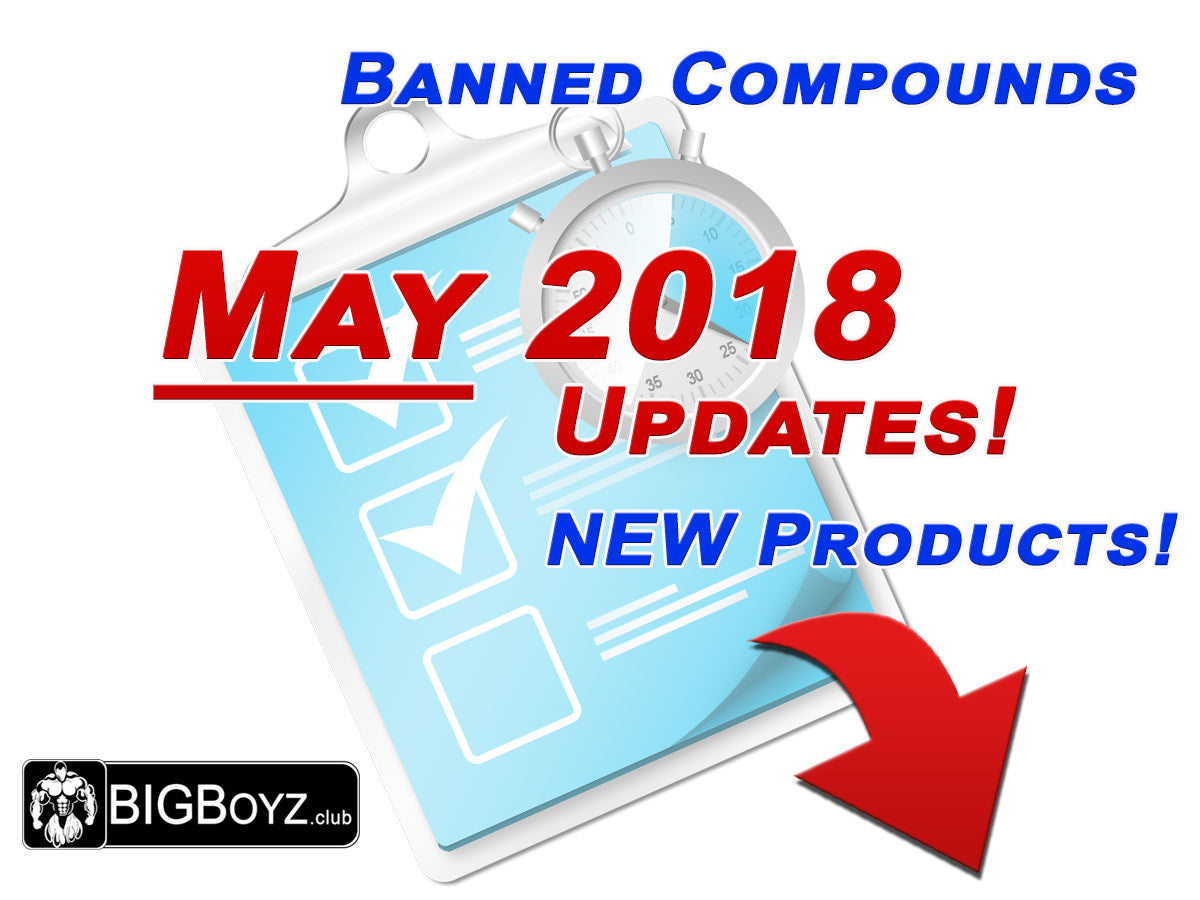 BIGBoyz BIG Changes ... Banned Compounds