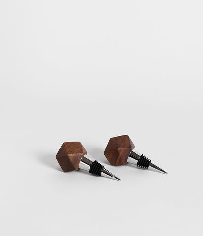 Mugavu Geometric Bottle Stopper,  - Rose & Fitzgerald