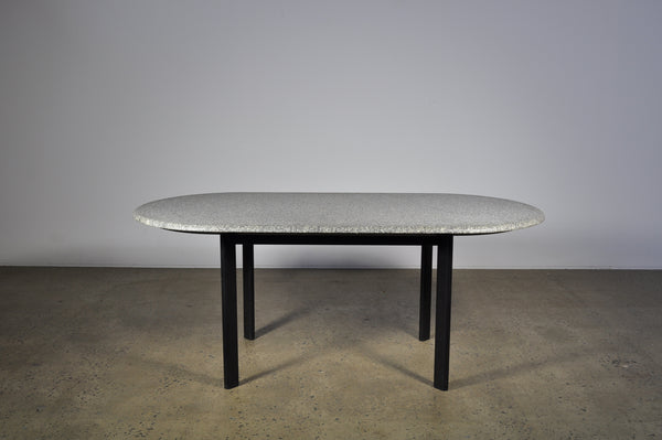 Granite table by Joe D'Urso for Knoll.