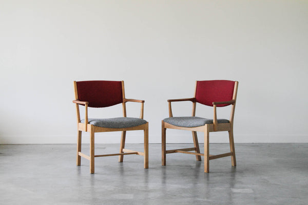 Danish Dining chair of Oak and Teak