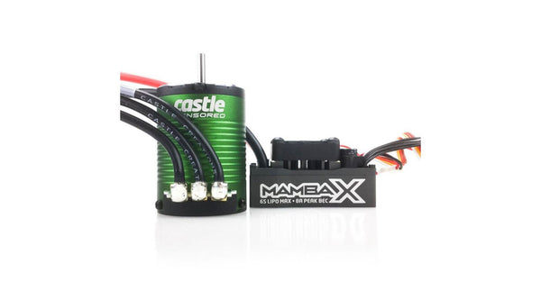 1/10 Mamba X Sensored 25.2V WP ESC with 1406-4600Kv Motor Combo (CSE010015501)