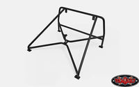 ROLL BAR RACK W/SPARE MOUNT FOR RC4WD CHEVY BLAZER BODY (BLACK)