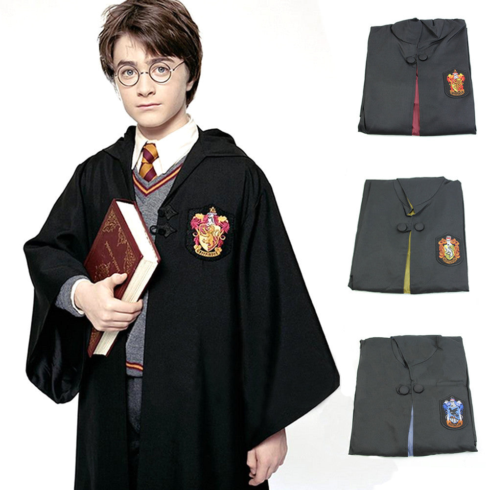 Harry Potter Cosplay  Cloak Cape Costumes - Adult Kids