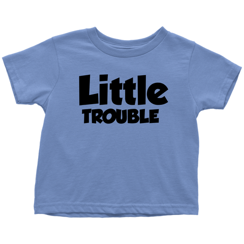 Toddler T-Shirt - Big/Little Trouble
