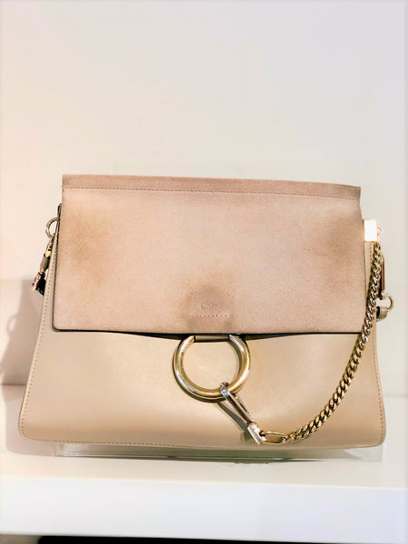 Chloe Faye Medium Flap Shoulder Bag