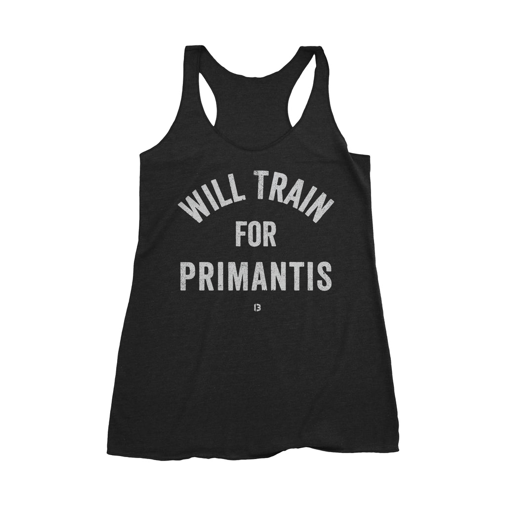 Will Train For Primantis Tank