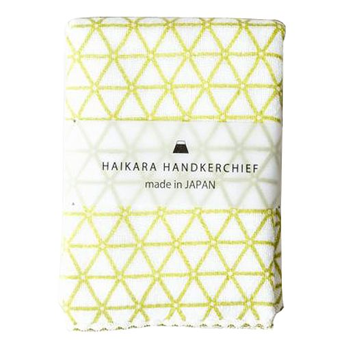 Kontex Haikara Little Handkerchief Green Kagome (1 pc)