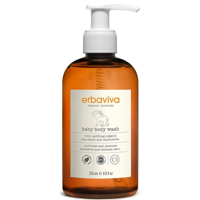 Erbaviva Baby Body Wash (8 oz)