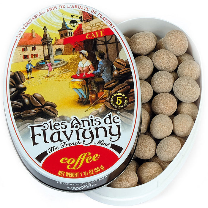Les Anis de Flavigny Coffee Flavored Hard Candy (50 g)