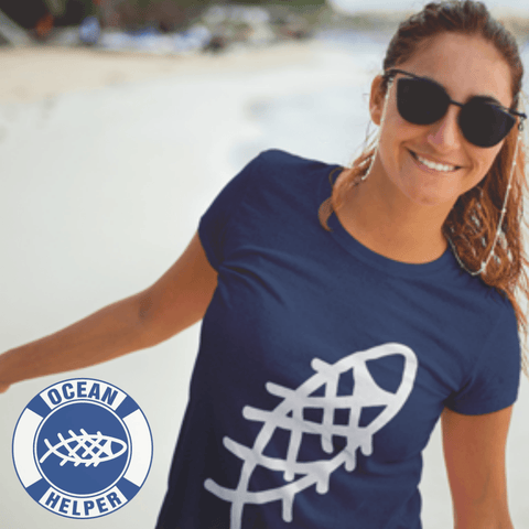 Ocean Helper Ladies' Favorite T-Shirt (Front Print) - OceanHelper