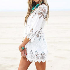 Lace Beach Dress - OceanHelper